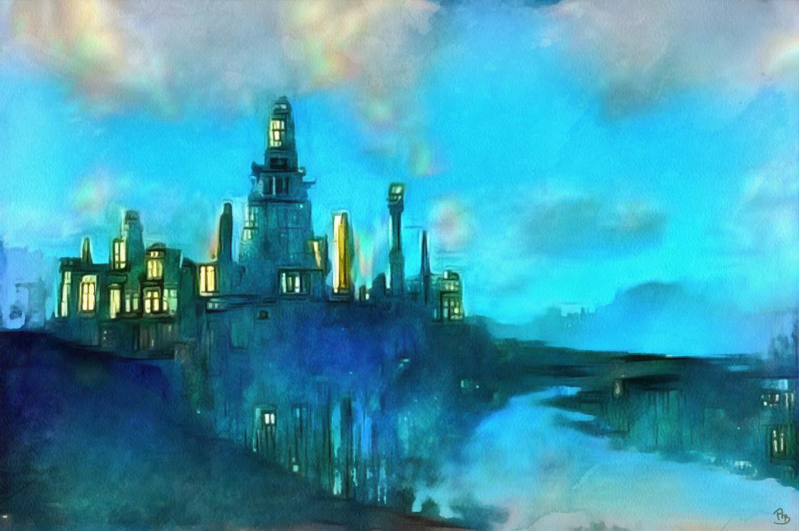 Fantasy-City-blue