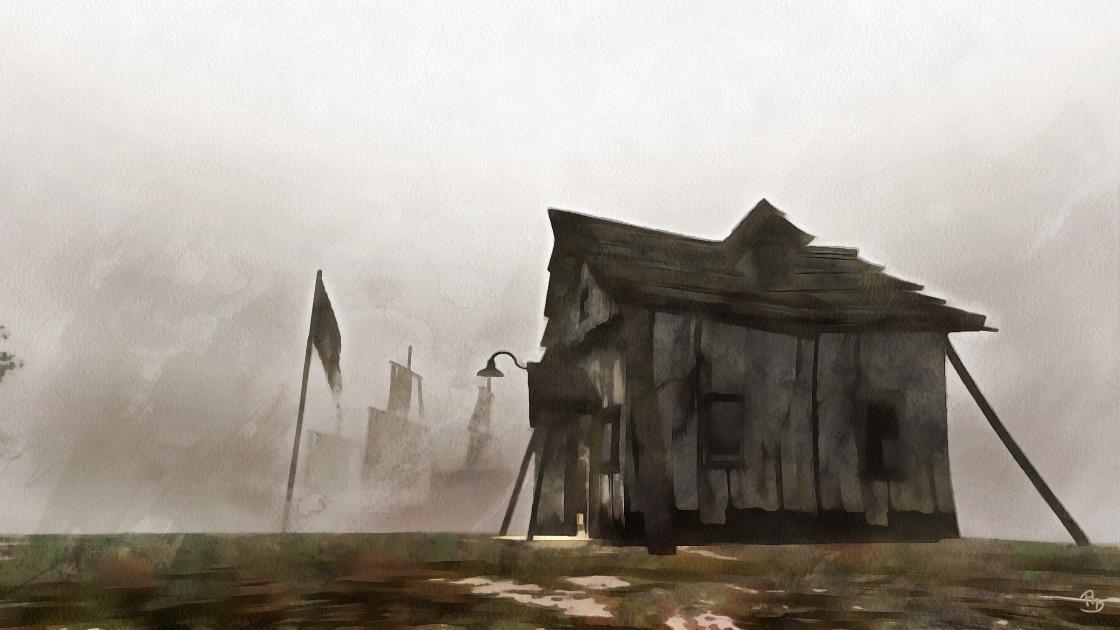 Pirate-Hut