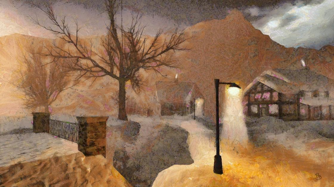 Winter-Village