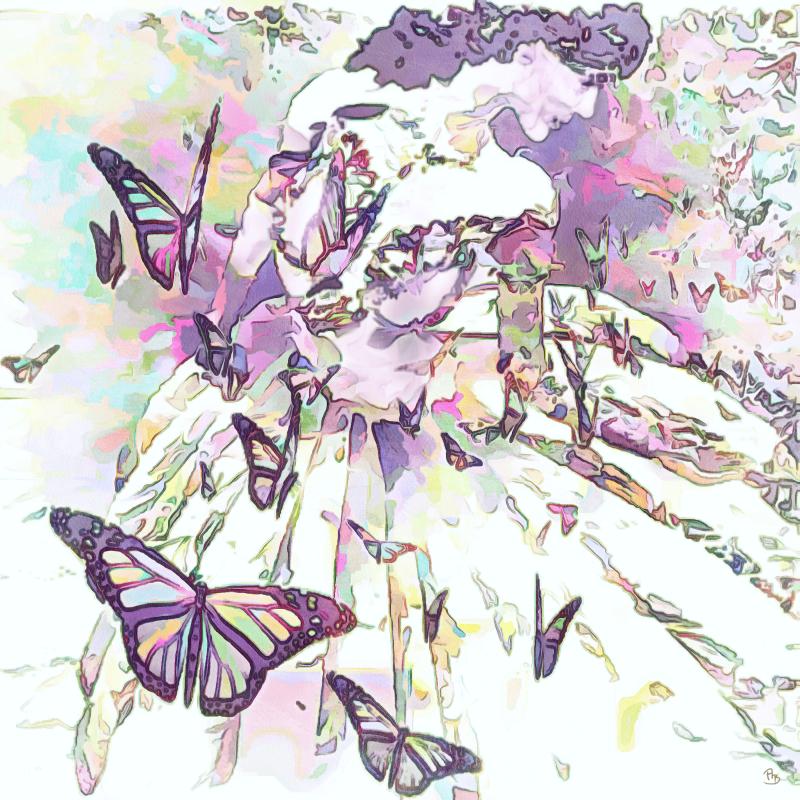 Mädchen-mit-Schmetterlingen