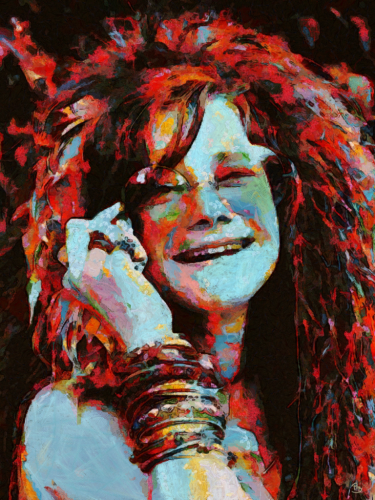Janis in Reds