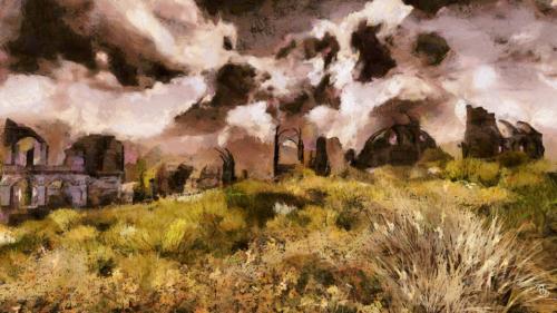 Middle-earth Elven Ruins in Eregion